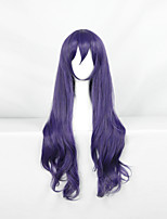 Love Live White Valentine's Day Heat Resistant Mixed Purple 60cm Cosplay Wigs