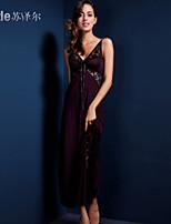 Vêtement de nuit Femme Robe de chambre Polyester