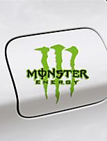 monsterenergy autoadesivo auto decorazione del corpo autoadesivo