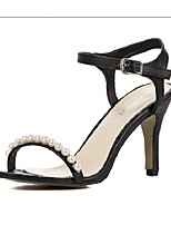 Women's Shoes  Stiletto Heel Heels Sandals Party & Evening Black/White