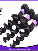 7A brazilian loose wave virgin hair 3pcs lot Mixed Lenght human hair weave brazilian virgin hair bundles