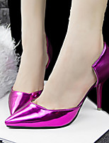 Women's Shoes Faux Leather Low Heel Heels/Pointed Toe Pumps/Heels Casual Multi-color