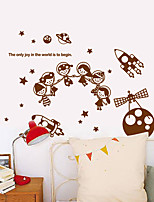 Wall Stickers Wall Decals, Modern Space science fiction PVC Wall Stickers