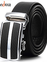 ALLFOND Men Party/Work/Casual Alloy/Leather Calfskin Waist Belt PZD4031-06