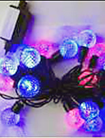 2W 5 Meter Outer Diameter 50pcs Bulb LED Modeling String Lighting Pellet Lights, RGB Color