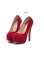 Women's Shoes  Stiletto Heel Heels/Round Toe Pumps/Heels Party & Evening/Casual Black/Red
