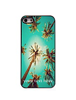 Personalized Gift Summer Coconut Design Aluminum Hard Case for iPhone 5/5S