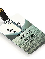 64GB The Hardest Thing Design Card USB Flash Drive