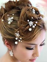 Acryl Vrouwen Helm Bruiloft/Speciale gelegenheden Haarspeld Bruiloft/Speciale gelegenheden 1 Stuk