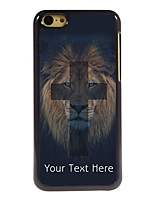 Personalized Gift The Lion and Cross Design Aluminum Hard Case for iPhone 5C