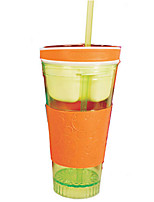 Snackeez Travel Cup Snack Drink in One Container (Random Color)