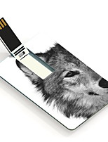 64GB The Wolf Design Card USB Flash Drive