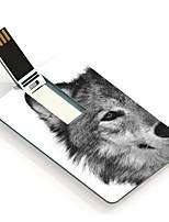 64GB de wolf ontwerp kaart usb flash drive
