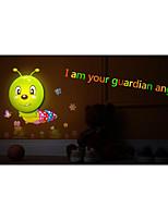 DIY LED Light interaction Control Wallpaper Lamp Night Light-caterpillar