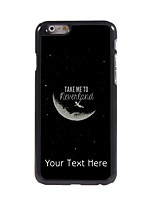 Personalized Gift Take Me To Neverland Design Aluminum Hard Case for iPhone 6 Plus