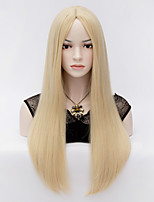 In The European And American Fashion Wig Long Bangs Straight Hair Wigs