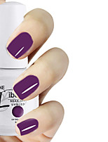 LIBEINE 1pc Soak Off 15 ML UV Gel Nail Polish Color Gel Polish 008# Grape Purple