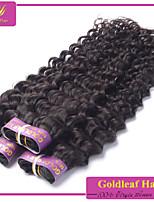 3pcs/lot Brazilian Virgin Hair natural black deep wave