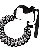Collar Aniversario/Boda/Pedida/Cumpleaños/Regalo/Fiesta/Diario/Oficina Rhinestone Aleación De mujeres