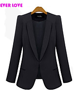 FOREVER LOVE®Women's  Casual OL Long Sleeve Blazer Coat