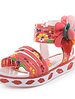 Baby Shoes Dress Sandals Pink/White/Coral