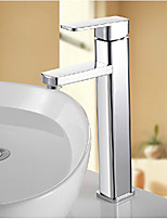 Tall Bathroom Sink Faucet Basin Mixer Tap Chrome