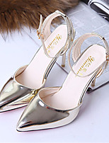Women's Shoes Stiletto Heel Pointed Toe Pumps/ Dress Silver/Gold
