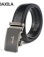 Men Party/Work/Casual Calfskin Waist Belt men's leather belt business casual leather belt fashion wild belt width 3.3cm