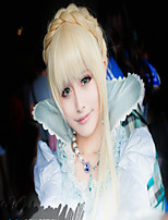 Pretty Costume Party Cosplay Megurine Luka VOCALOID Wig Long Wavy Pontails Wig