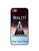 Personalized Gift Reality is an Illusion Design Aluminum Hard Case for iPhone 5/5S