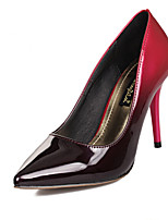 Women's Shoes Stiletto Heel Heels/Pointed Toe Pumps/Heels Casual Green/Pink/Burgundy