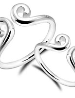 Couples' Silver Ring