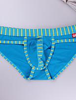 Men's Sexy Hollow Cotton Low Waist Briefs Underwear 2015 New