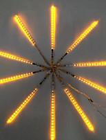 dc12v entrada 23W 30cm 36pcs largos 3528SMD llevó la luz de meteoros lluvia, color amarillo 10 PC / sistema