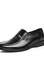 Men's Shoes Wedding/Office & Career/Party & Evening/Dress Calf Hair Oxfords Black