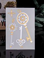 4PCS Gold Tattoo Metallic Tattoo Flash Taty Fake Tatoo Tatouage Temporary Tattoo Sticker Metal Tatoos Flash Tattoo