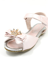 Girls' Shoes Casual Open Toe Faux Leather Sandals Blue/Pink