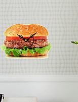 3D The Hamburger Decoration Wall Stickers Wall Decals