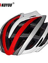 Capacete ( Amarelo/Branco/Verde/Vermelho/Preto/Azul/Roxo , PC/EPS ) - Cara-Total/Montanha/Estrada/Esportes - Unisexo 30 Aberturas