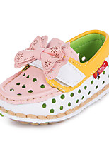Baby Shoes Dress  Loafers Pink/White