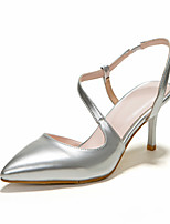 Women's Shoes Leather Stiletto Heel Pointed Toe Pumps Dress More Colors Available