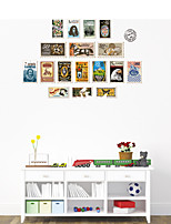 Wall Stickers Wall Decals Style Commemorative Stamps PVC Wall Stickers
