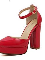Women's Shoes Stiletto Heel Heels Pumps/Heels Outdoor/Dress Black/Red/White/Beige