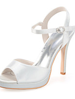 Women's Shoes Silk Stiletto Heel Open Toe Sandals Wedding/Party & Evening More Colors available