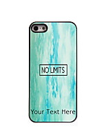 Personalized Gift No Limit Design Aluminum Hard Case for iPhone 4/4S