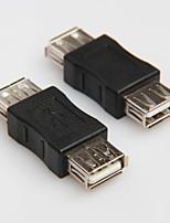 USB 2.0 typ žena na ženské kabel kabelové vazební adaptér převodník konektoru měnič rozšiřujícího vazební