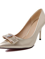 Women's Shoes Synthetic Stiletto Heel Heels/Basic Pump Pumps/Heels Office & Career/Dress/Casual Silver/Gold