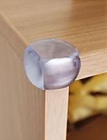 bébé compagnon 12 pcs table de sécurité de bébé pare-chocs d'angle (forme de boule, clair, 12 pcs)