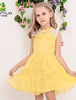 KAMIWA Girls Summer Bowknot Chiffon Princess Party Dresses Wedding Lace Children's Clothing Kids Clothes
