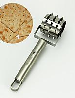 acciaio pane bistecca foro pizza pasta sfoglia docker rullo per panificazione